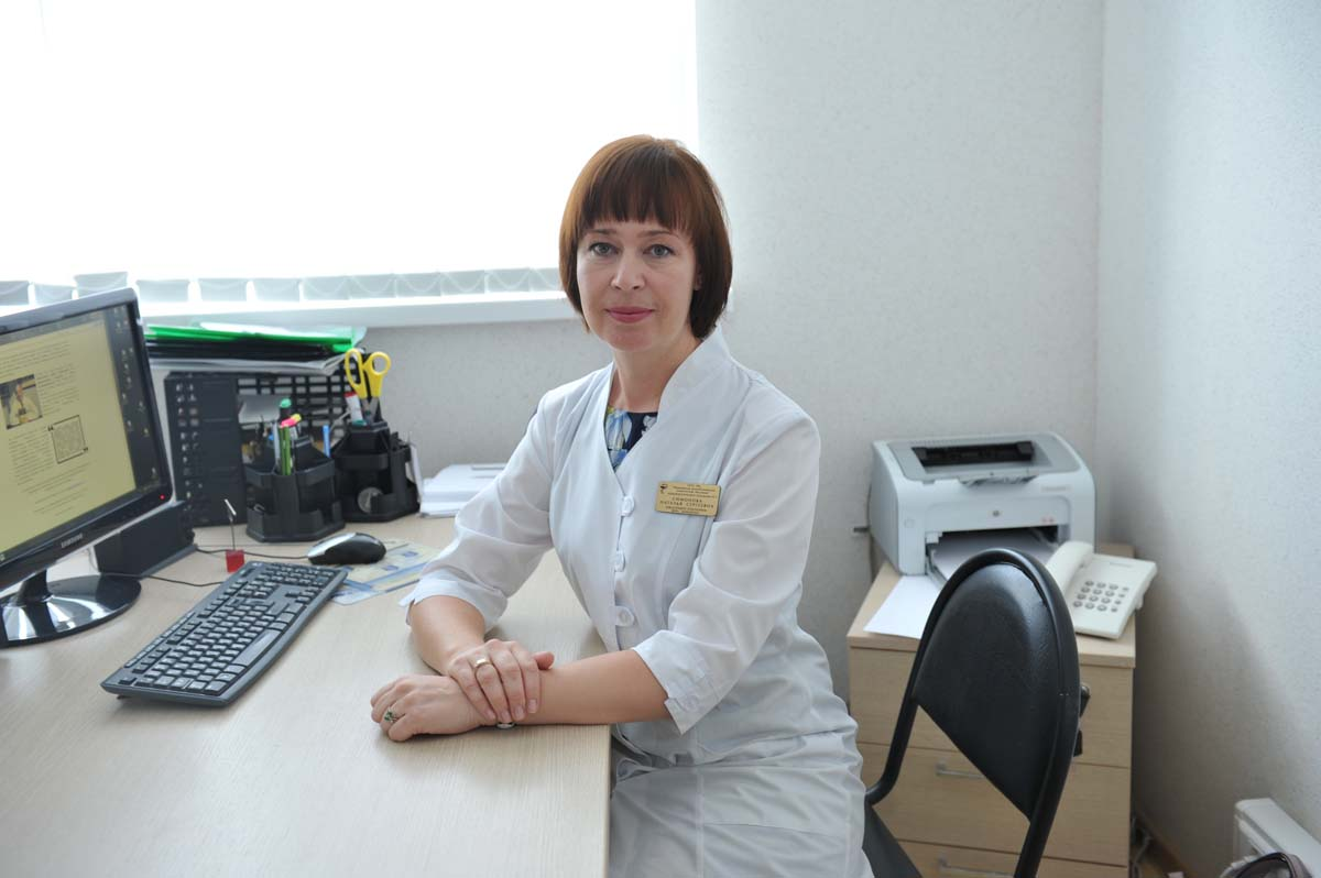 Simonova Natalia Sergeevna Head of Department Cardiology №2