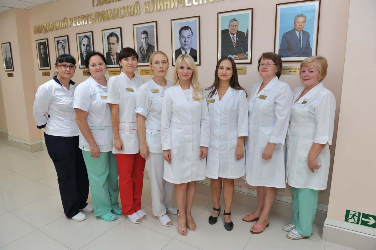 The staff of the Department of Gastroenterology Department