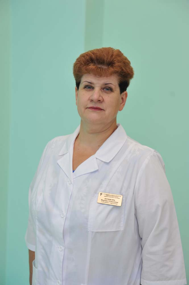 Marina Shlykova - head of the Nephrology Department