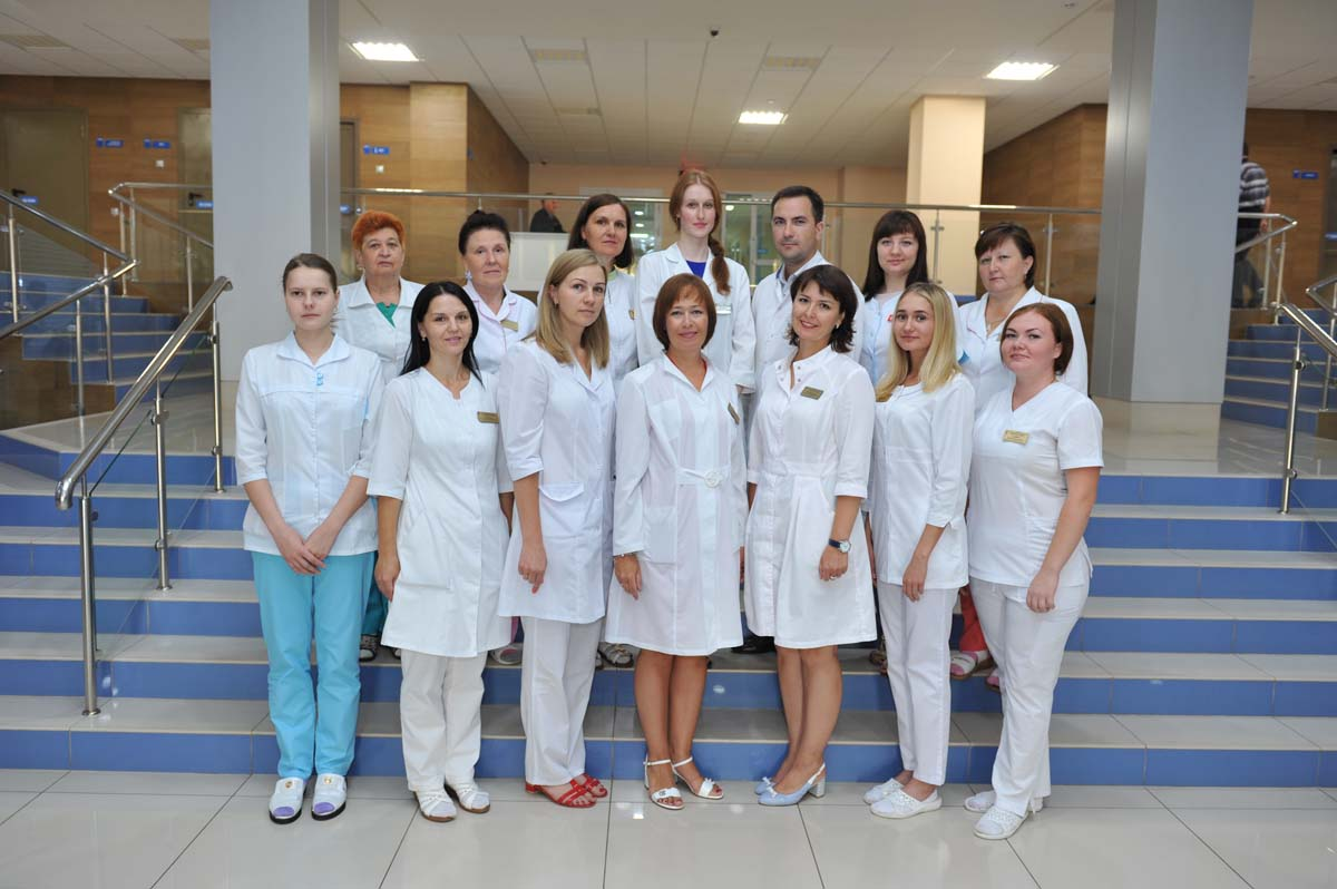 The staff of Cardiology Department # 2